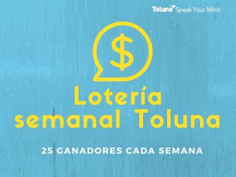 Toluna Weekly Sweepstakes